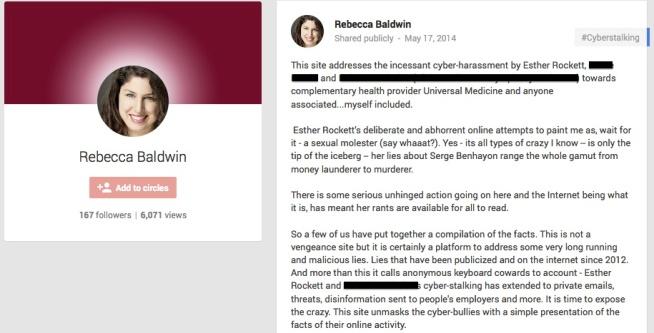 Rebecca Baldwin Bullshit