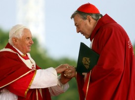 High level enablers, Cardinal Pell & Pope Benedict XVI
